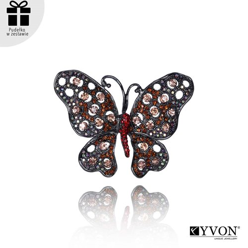 Obrazek Broszka motyl BR03622