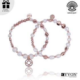 Obrazek Zestaw bransolet perła naturalna B02691