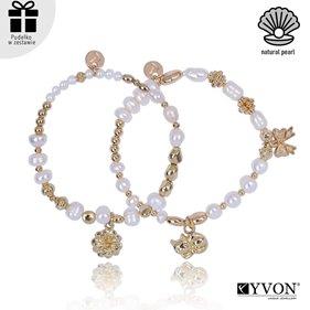 Obrazek Zestaw bransolet perła naturalna B02692