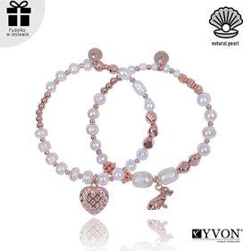 Obrazek Zestaw bransolet perła naturalna B02693