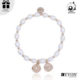 Obrazek Bransoletka z perły naturalnej B01921