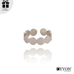 Obrazek Pozłacany pierścionek R01861