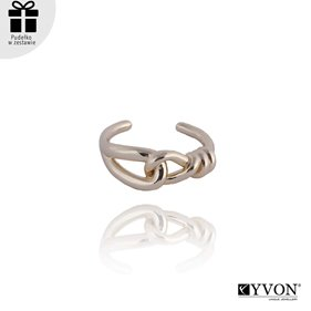 Obrazek Pozłacany pierścionek R01858