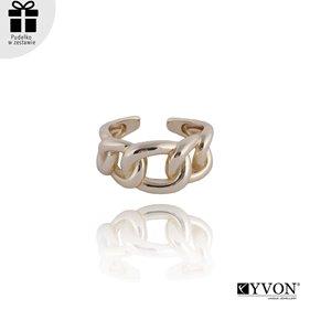 Obrazek Pozłacany pierścionek R01857