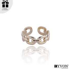 Obrazek Pozłacany pierścionek R01856