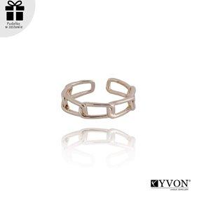 Obrazek Pozłacany pierścionek R01852
